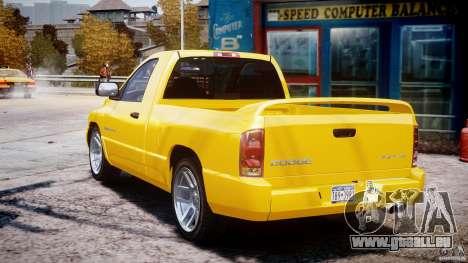 Dodge Ram SRT-10 2003 1.0 pour GTA 4 est un côté