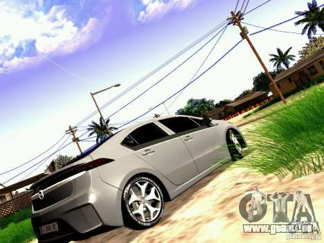 Opel Ampera für GTA San Andreas linke Ansicht