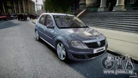 Renault Logan pour GTA 4 Vue arrière
