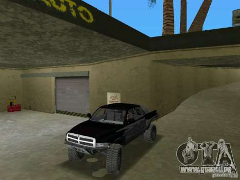 Dodge Ram Prerunner für GTA Vice City rechten Ansicht