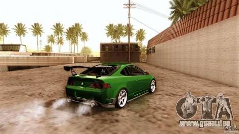 Acura RSX Spoon Sports pour GTA San Andreas vue de dessous