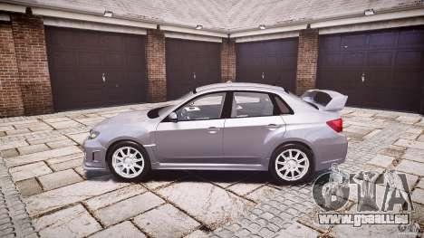 Subaru Impreza WRX 2011 pour GTA 4 est une gauche