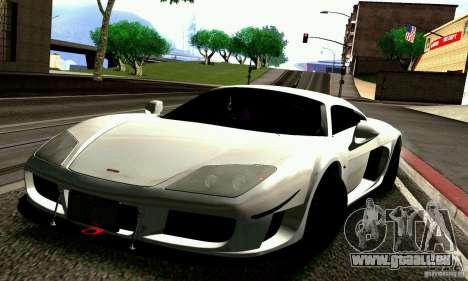 Noble M600 für GTA San Andreas Räder