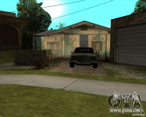 Car in Grove Street für GTA San Andreas