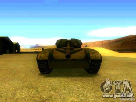 Tank Spiel S. T. A. L. k. e. R für GTA San Andreas Rückansicht