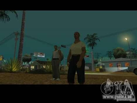 Varrio Los Aztecas pour GTA San Andreas huitième écran