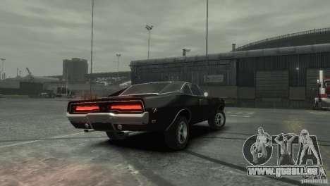 Dodge Charger RT 1969 Tun für GTA 4 linke Ansicht