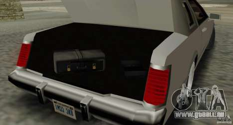 Virgo Continental pour GTA San Andreas vue de côté