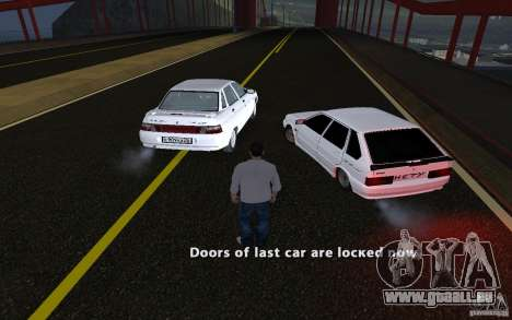 Remote lock car v3.6 für GTA San Andreas her Screenshot