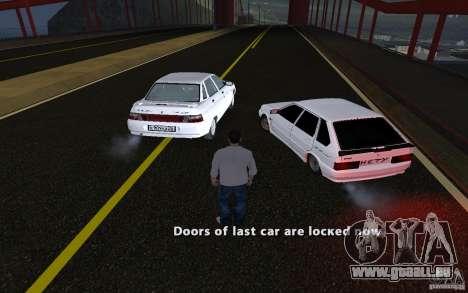 Remote lock car v3.6 pour GTA San Andreas quatrième écran