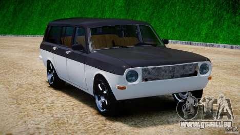 GAZ 24-12 1986-1994 Tuning pour GTA 4 Vue arrière