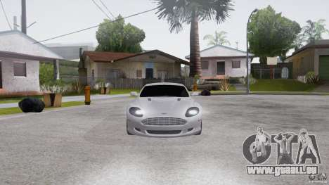 Aston Martin DB9 für GTA San Andreas rechten Ansicht