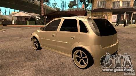 Opel Corsa Tuning Edition pour GTA San Andreas sur la vue arrière gauche