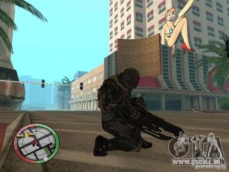 Armes exotiques de Crysis 2 pour GTA San Andreas quatrième écran