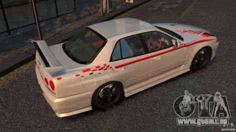 Nissan Skyline ER34 Nismo Z Tune pour GTA 4 est un droit