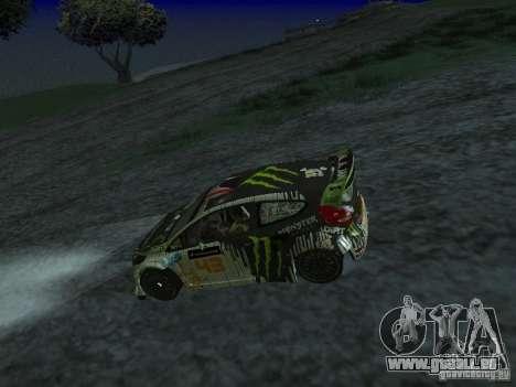 Ford Fiesta Ken Block WRC pour GTA San Andreas vue de droite