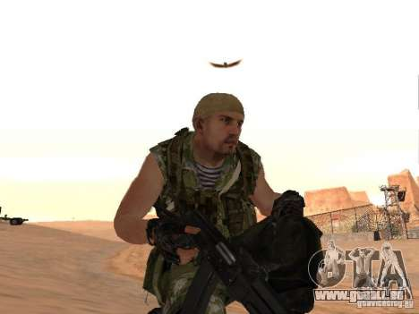 Russische Commando für GTA San Andreas siebten Screenshot