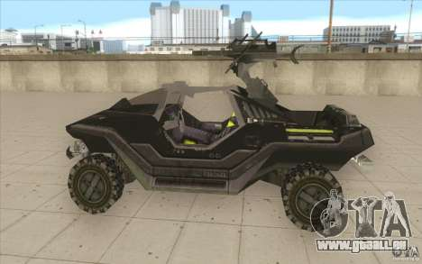 Halo Warthog für GTA San Andreas linke Ansicht