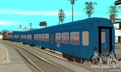 Voiture 21-47 CFR pour GTA San Andreas laissé vue