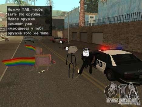 Meme Ivasion Mod für GTA San Andreas fünften Screenshot