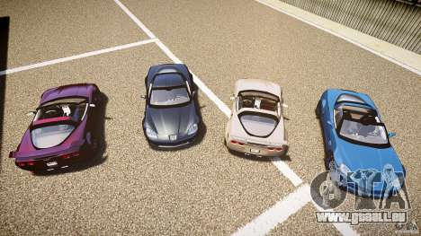 Chevrolet Corvette Z06 1.2 pour GTA 4 Salon