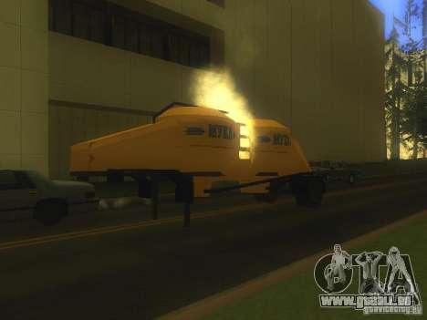 Mukovoz K4-AMG-trailer für GTA San Andreas linke Ansicht