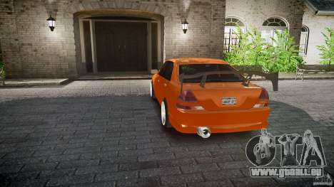 Toyota JZX110 pour GTA 4 roues