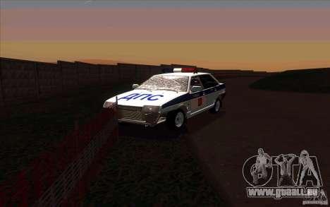 VAZ 21099, Polizei für GTA San Andreas Rückansicht