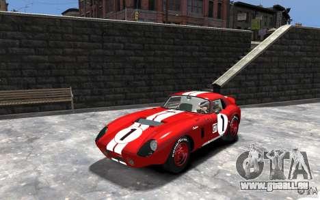 Shelby Cobra Daytona Coupe 1965 für GTA 4