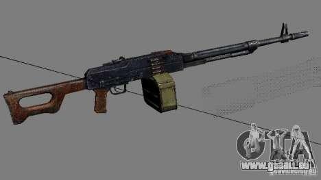 Une série d'armes de stalker V2 pour GTA San Andreas
