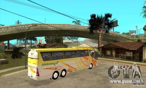 Irizar PB Scania K420 6x2 für GTA San Andreas rechten Ansicht