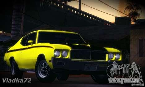 Buick GSX 1970 v1.0 pour GTA San Andreas laissé vue