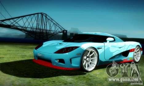 Koenigsegg CCX für GTA San Andreas Seitenansicht