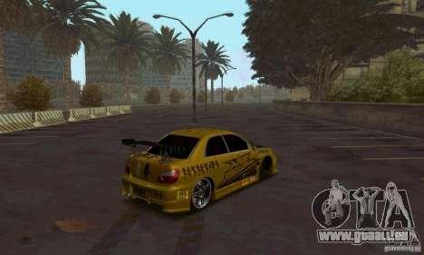 NFS Most Wanted - Paradise pour GTA San Andreas troisième écran