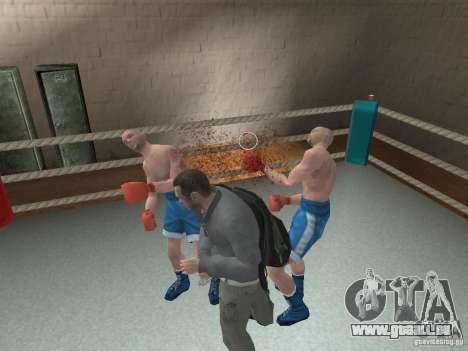 Le système de combat de GTA IV pour GTA San Andreas