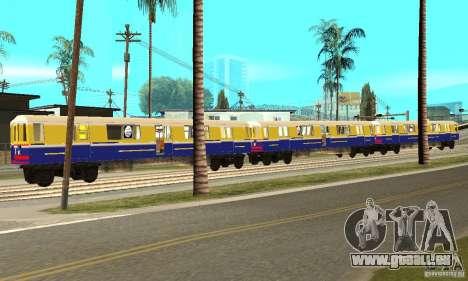Liberty City Train Italian pour GTA San Andreas laissé vue