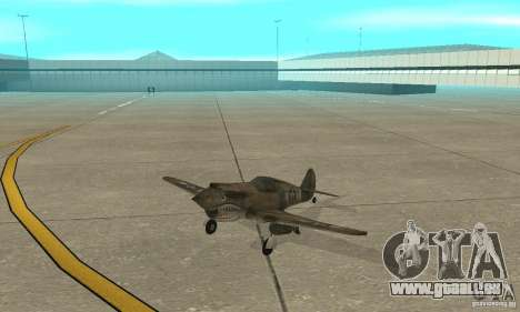 P-35 für GTA San Andreas linke Ansicht