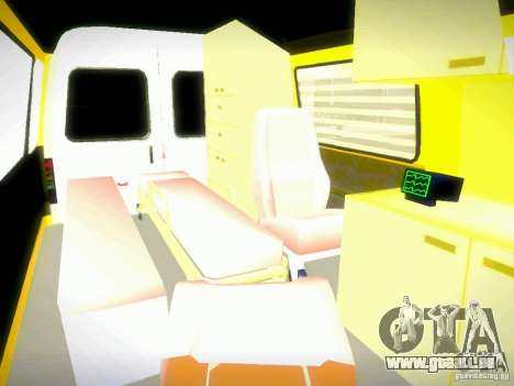 Gazelle 2705 BAKU AMBULANS für GTA San Andreas Seitenansicht