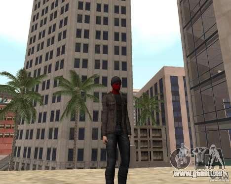 Spider Man pour GTA San Andreas quatrième écran