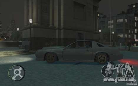 Buffalo IV für GTA 4 linke Ansicht