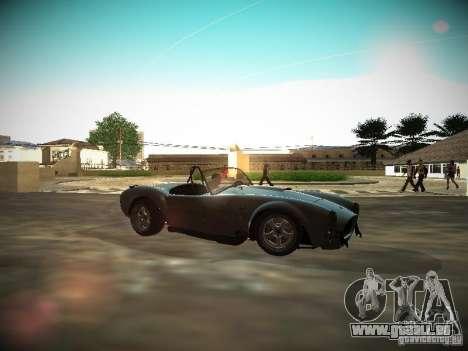 Shelby Cobra für GTA San Andreas linke Ansicht