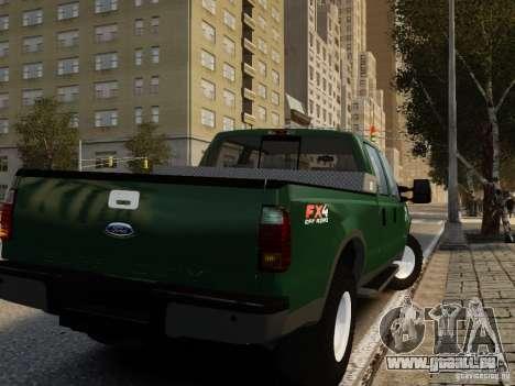 Ford F-250 FX4 2009 pour GTA 4 est une gauche