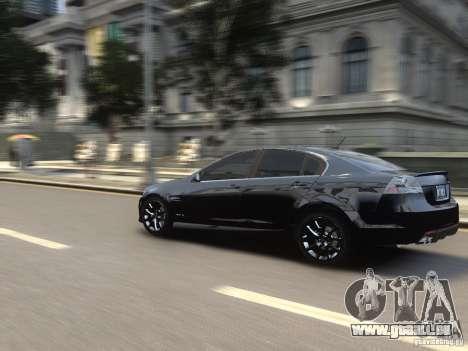Pontiac G8 GXP pour GTA 4 Vue arrière