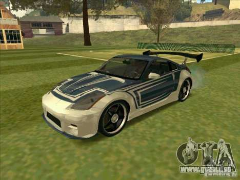 Nissan 350Z Chay from FnF 3 pour GTA San Andreas