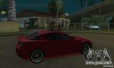 Néons rouges pour GTA San Andreas