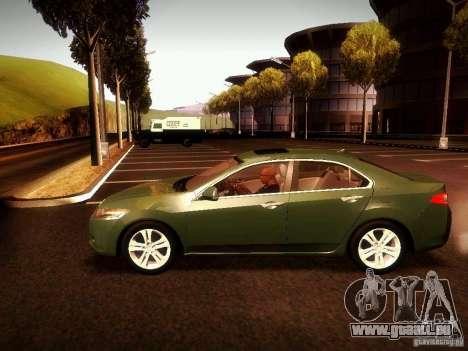 Acura TSX pour GTA San Andreas vue de droite