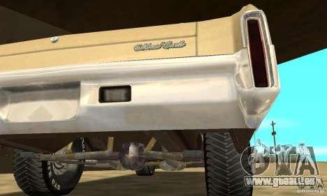 Chevy Monte Carlo [F&F3] für GTA San Andreas Seitenansicht