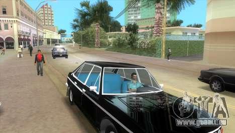 Tatra 613 1973 pour GTA Vice City sur la vue arrière gauche