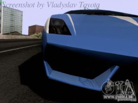 Lamborghini Gallardo LP560-4 Polizia für GTA San Andreas Innenansicht