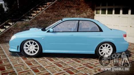 Subaru Impreza WRX STI Spec C Type RA-R 2007 für GTA 4 linke Ansicht
